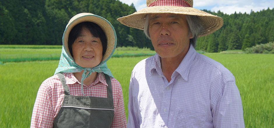 合鴨米の生産者